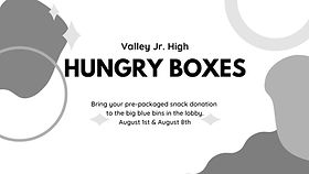 Valley Jr. High Hungry Boxes
