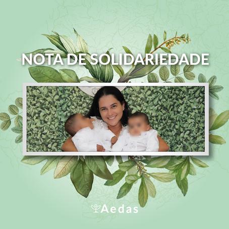 Nota de Solidariedade - Juliana Creizimar Resende Silva