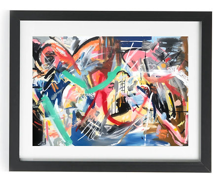 'Collide' Limited Edition Print of 50