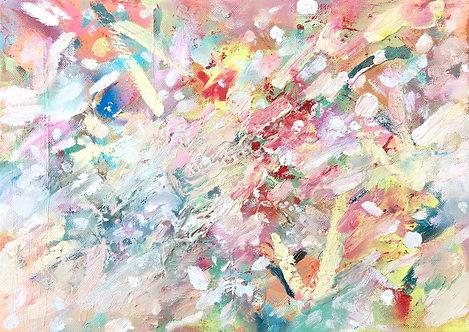 'Flowers In Vegas', 2016, 25 x 35 cm