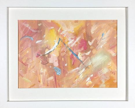 'Metropolis II', 2016, 21 x 30 cm, oil on acid-free paper
