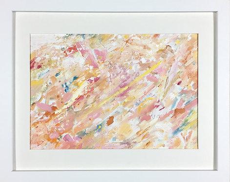 'Beam Me Up', 2016, 30 x 21 cm, oil on acid-free paper