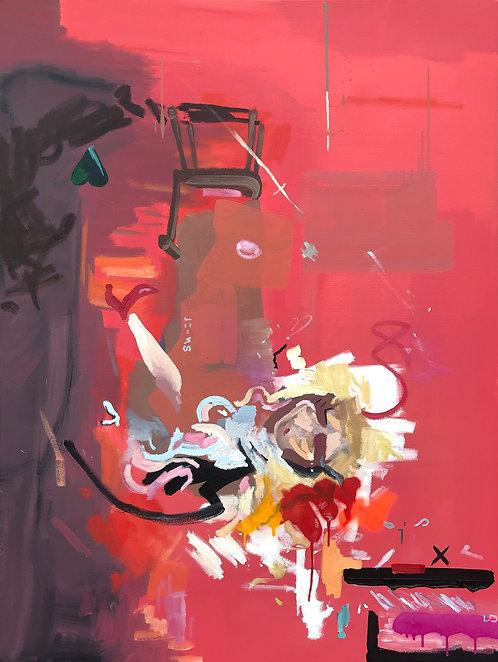 'Glitch' Original Painting