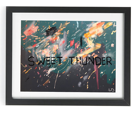 'Sweet Thunder' Limited Edition Print of 50