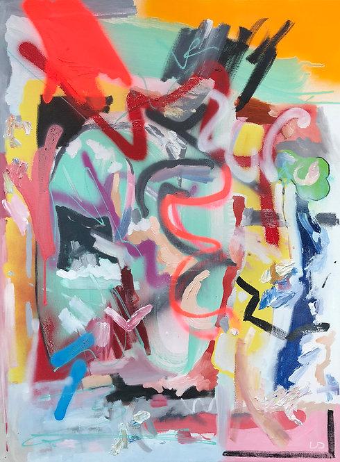 'Override' Original Painting