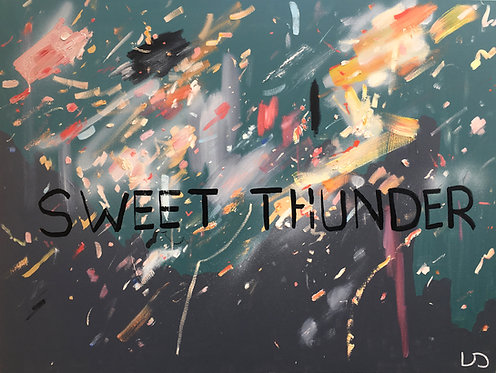 'Sweet Thunder' Original Painting