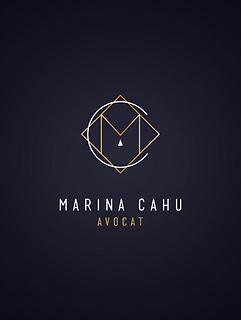 logo avocat bordeaux marina cahu