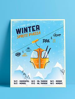 winter Spritz piazza aperol tour