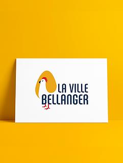 la ville bellanger oeuf poule logo