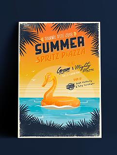 summer spritz piazza tour aperol