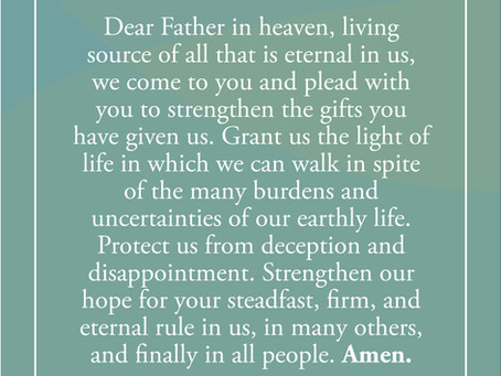 Prayer: Tuesday of the Fifth Week in Ordinary Time