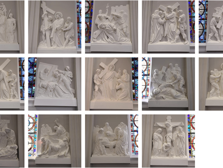 Stations of the Cross with Holy Trinity School