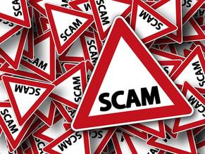 Beware of False Renewal Schemes