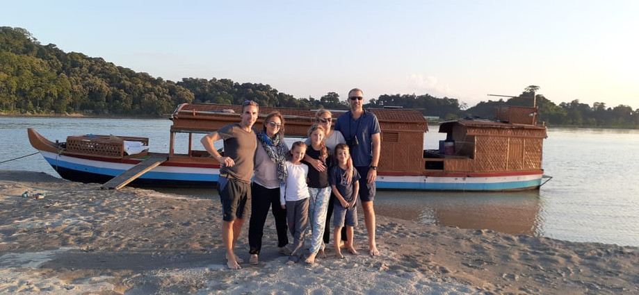Brahmaputra river day cruise
