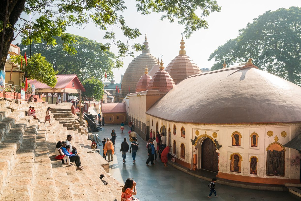 Kamakhya temple with Assam Bengal Naviga