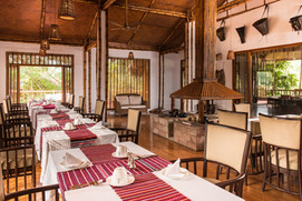 The dining area in the Machan
