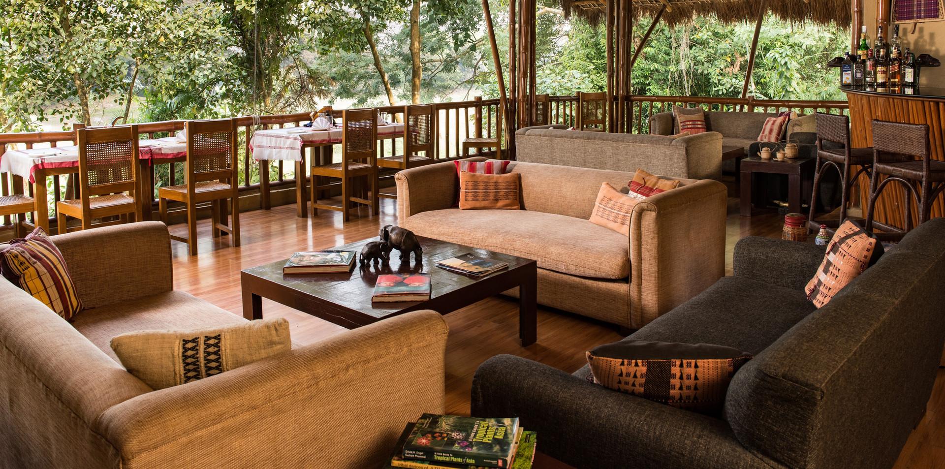 Diphlu River Lodge's Macchan - Dinning A