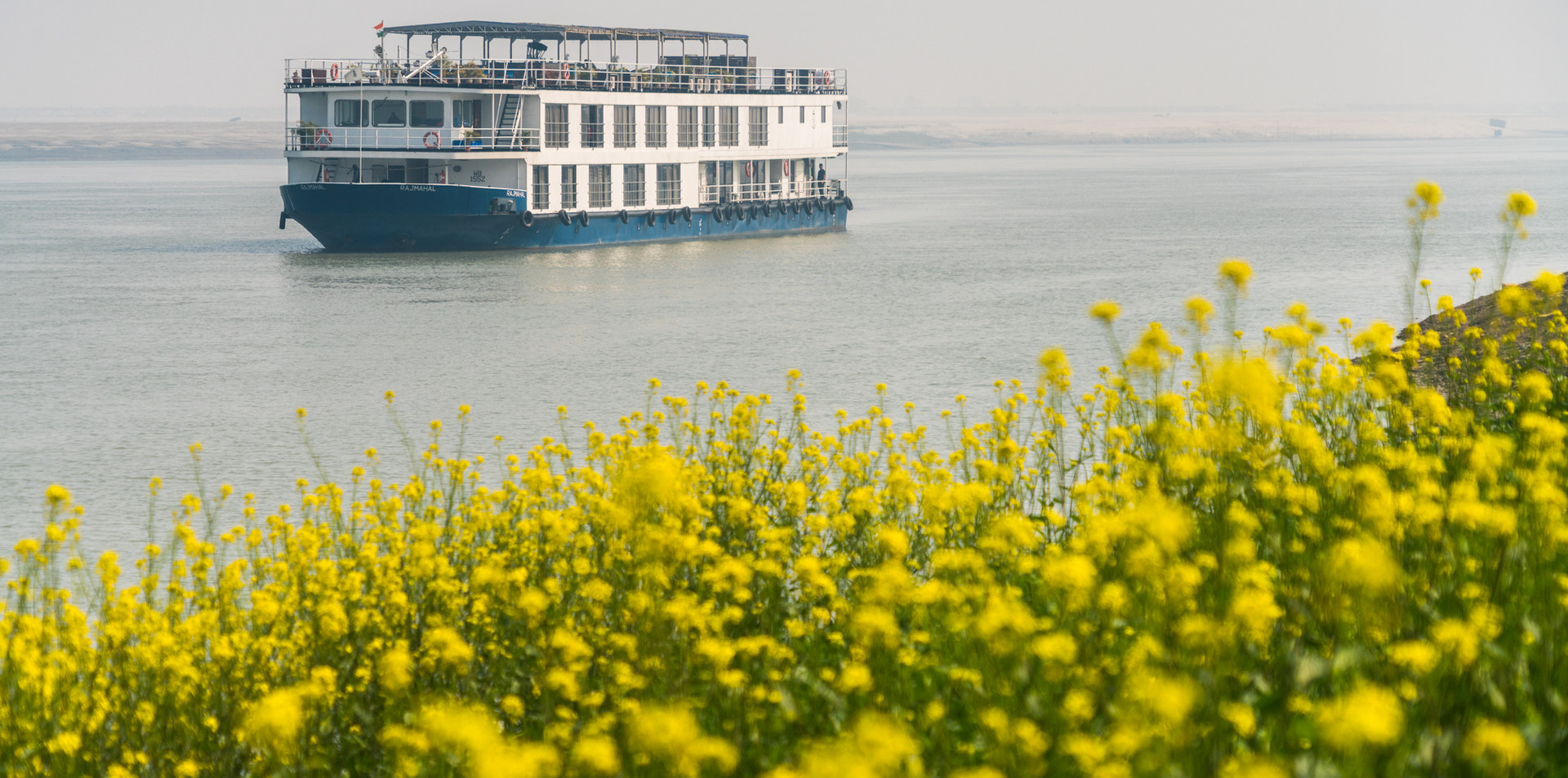 ABN Rajmahal on the Ganges