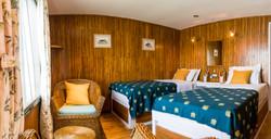 ABN Charaidew I twin-bedded cabin