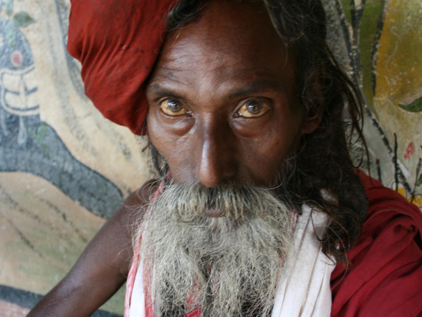 Sadhu at Silghat.JPG