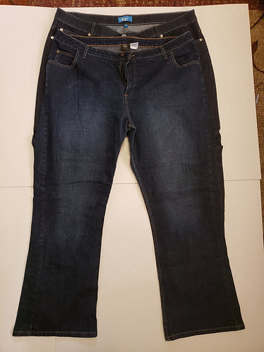 2 Pairs of Jeans Size 24W