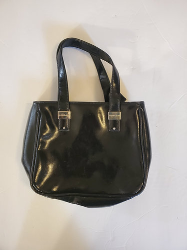 Mondani Patent Leather Small Handbag