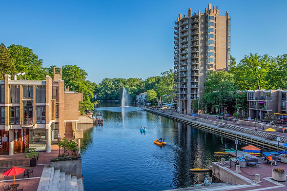 Lake Anne Plaza, Reston VA © Melinda Z Szilagyi