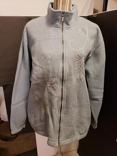 adeline by Alfred Dunner Fleece Jacket