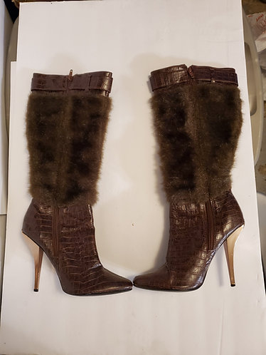 Michael Antonio Fur Boots
