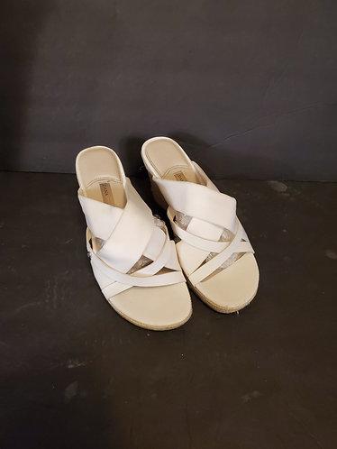Dana Buchman Sandal Wedges Women's Size 9.5