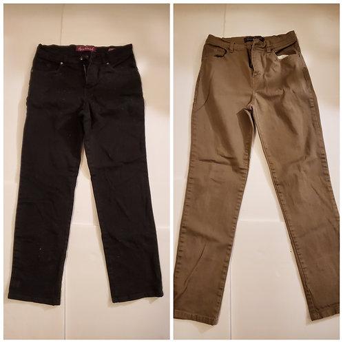 2 Gloria Vanderbilt Jeans
