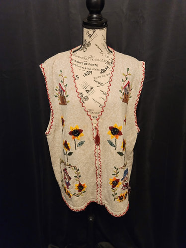 White Stag Sweater Vest