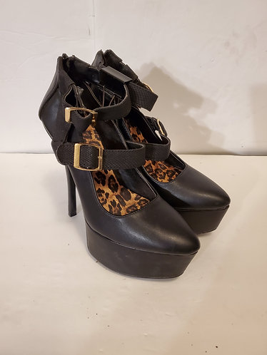 Qupid Platform Mary Jane Heels
