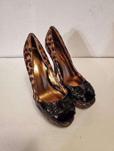 dots Platform Heels
