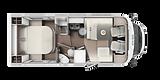 ETRUSCO T 7400 QB Cama Isla 2020