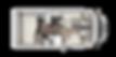 ETRUSCO 6900DB Cama fija transversal y gran garaje