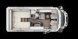 VAN ETRUSCO V6600SB Camas Separadas Ideal parejas