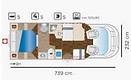 Mister 570 5 Plazas Cama Isla