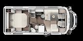ETRUSCO T-7400 QB Cama Isla 2020 4369LHC