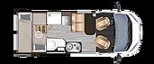 DREAMER D53 litera con dos camas dobles
