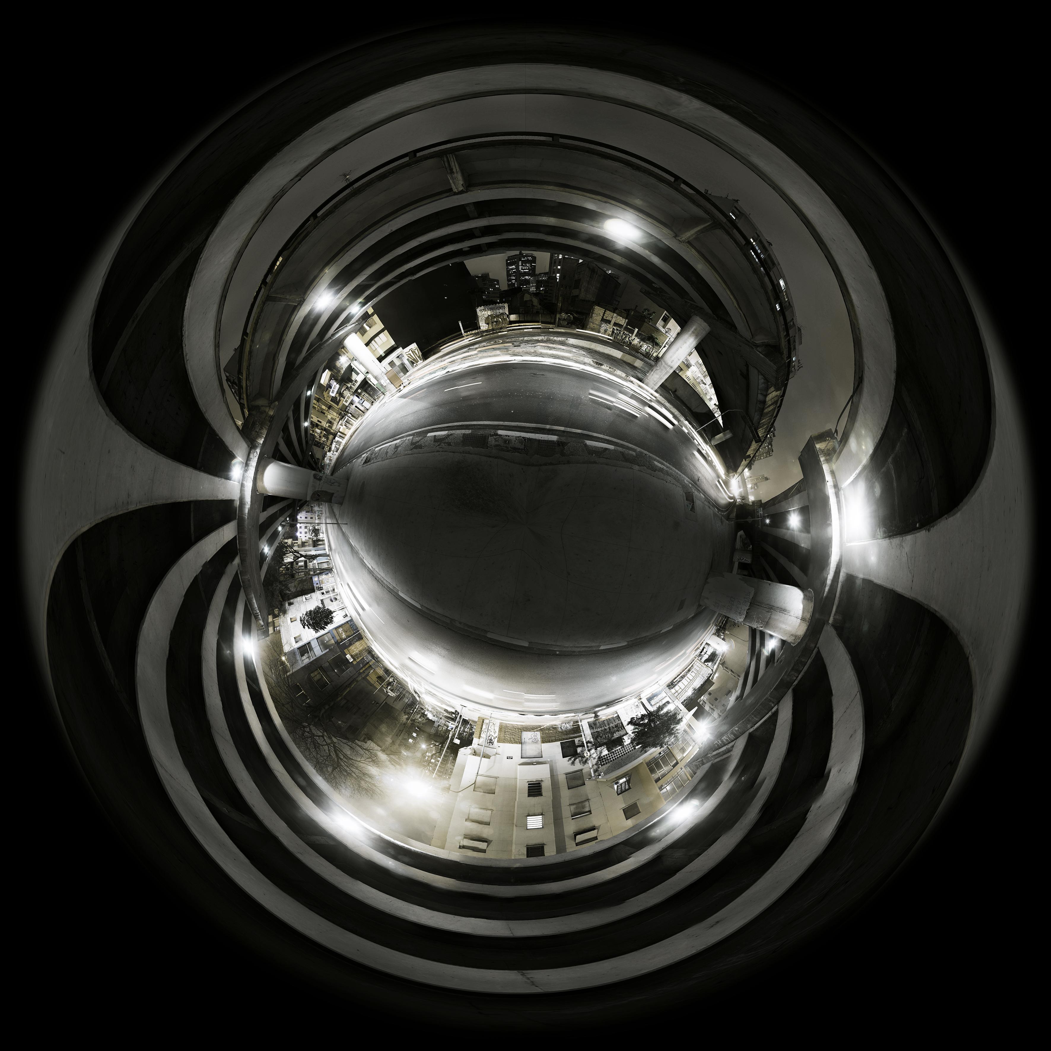 Abaixo do minhocao planeta filtro