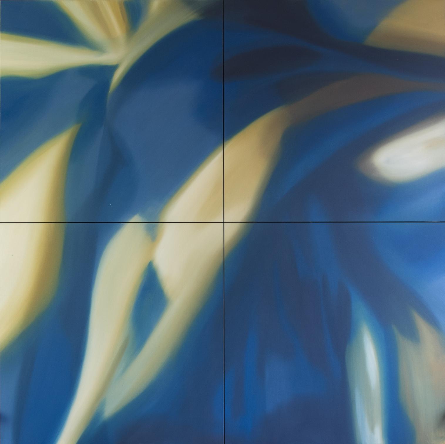 Abstração Azul