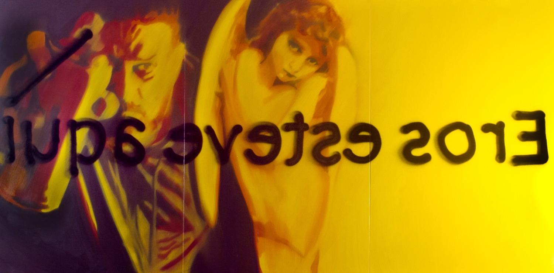 Autorretrato com Eros Amarelo