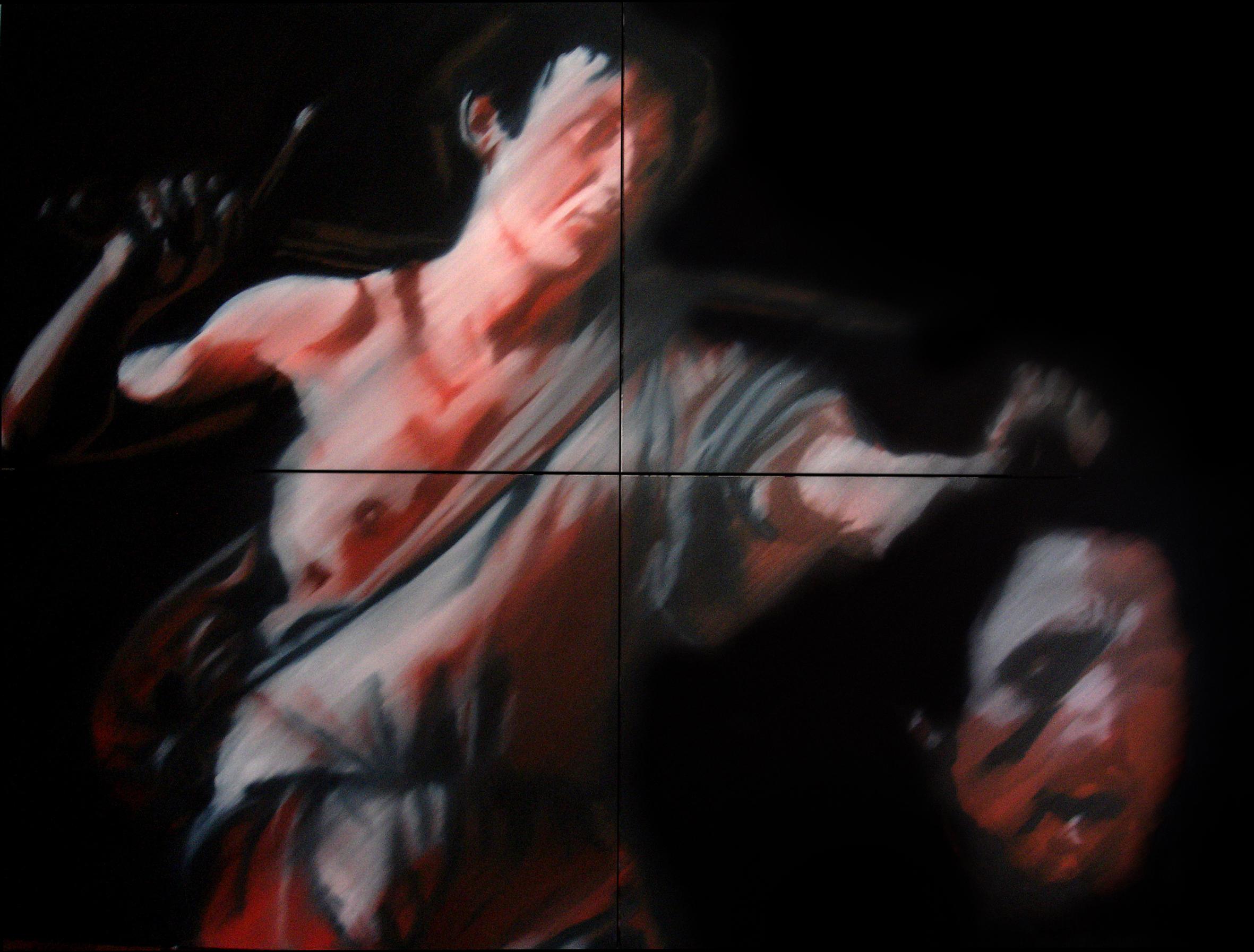 Caravaggio David e Golias