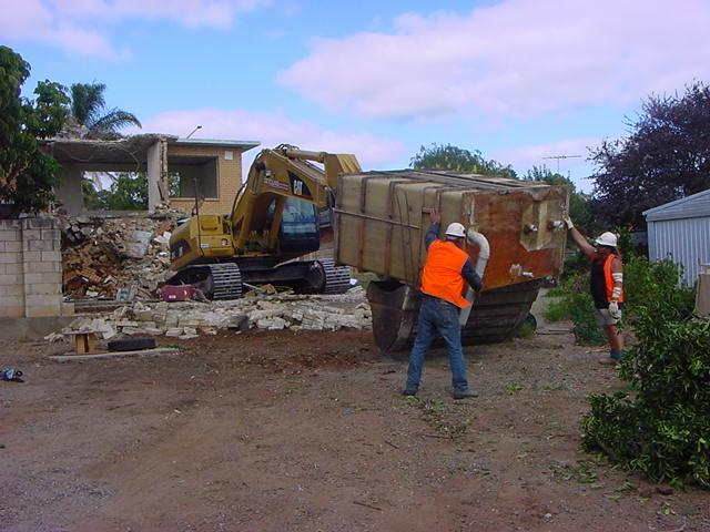 Home demolition lonsdale maclren val