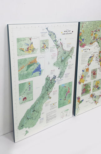Wine Maps on 20mm Artmount