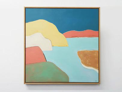 Blue Lake by Kristine Keir (SOLD)