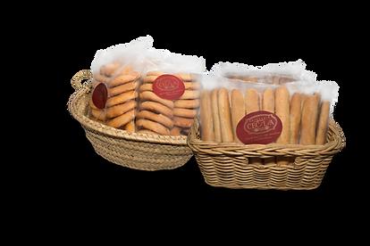 Palitos y rollitos cesta Artesanía Cecilia