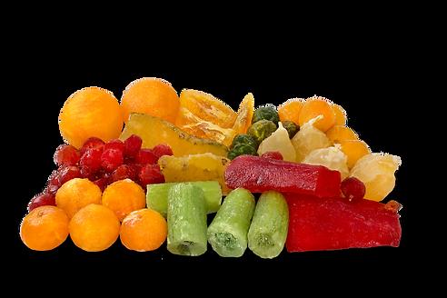 Fruta confitada artesana