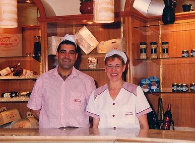 Cecilia Sabater y Ricardo Picó. Artesanos de dulce y Salado en Xixona